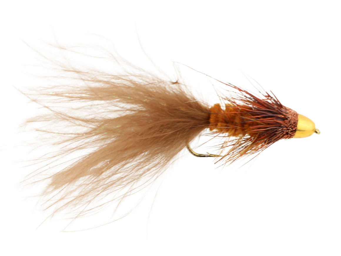 Brown Cone Head Wooly Bugger Fly | Wild Water Fly Fishing
