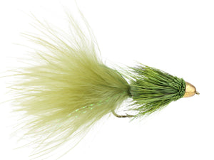 Green Cone Head Wooly Bugger Fly | Wild Water Fly Fishing