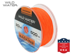20 lb Braided Dacron Fly Line Backing | Wild Water Fly Fishing