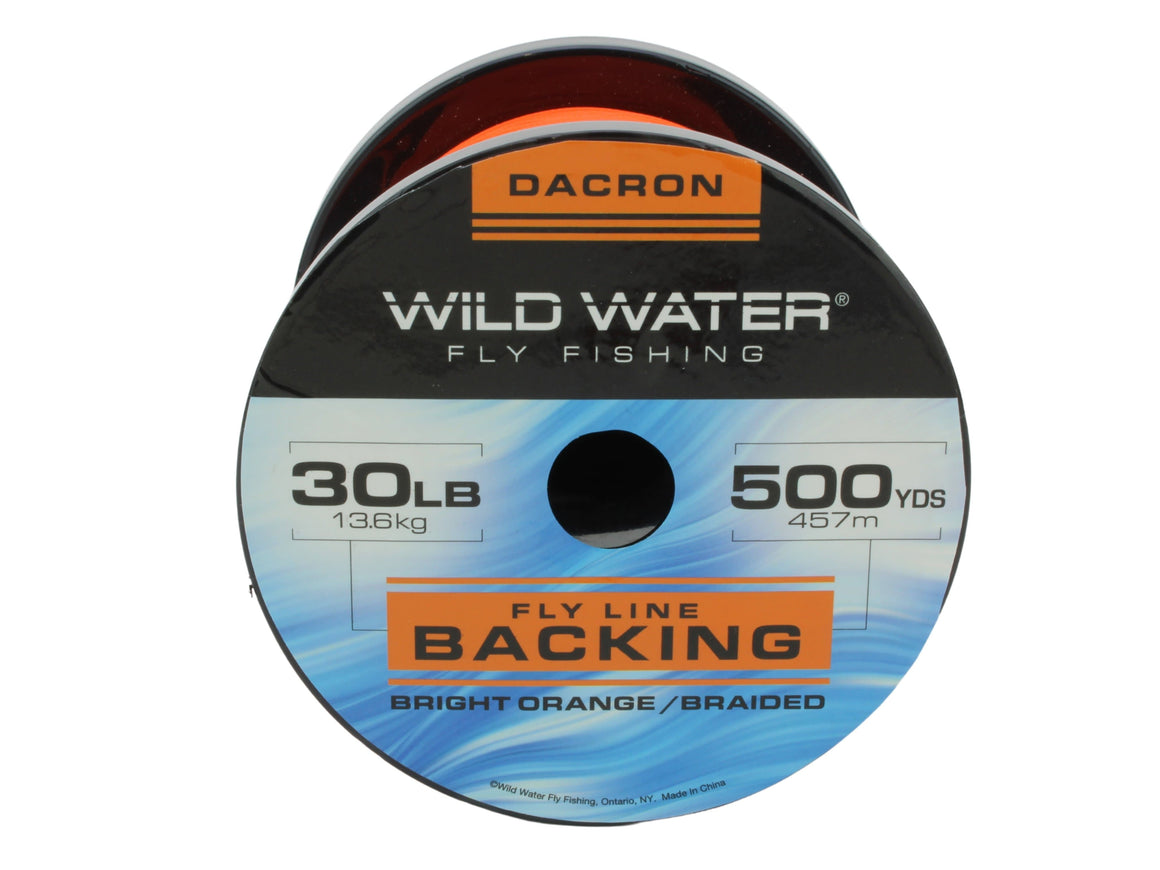 30 lb Braided Dacron Fly Line Backing | Wild Water Fly Fishing