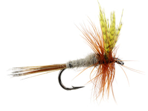 Wild Water Fly Fishing Dark Hendrickson, Size 14, Qty. 6