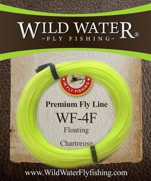 Weight Forward 4 Floating Fly Line - Wild Water Fly Fishing