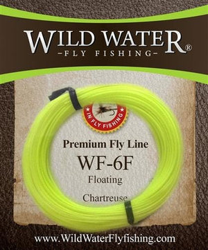 6 Weight Forward Floating Fly Line | Wild Water Fly Fishing