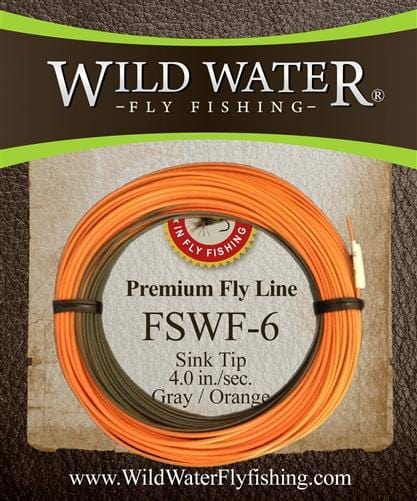 Weight Forward 6 Sinking Tip Fly Line - Wild Water Fly Fishing