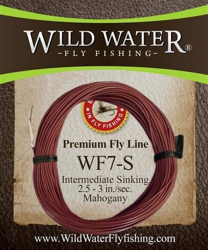 Weight Forward 7 Weight Intermediate Sinking Fly Line - Wild Water Fly Fishing