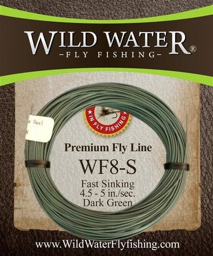 8 Weight Fast Sinking Fly Line | Wild Water Fly Fishing