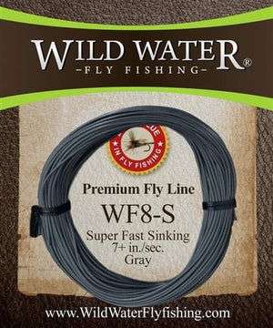 Weight Forward 8 Weight Super Fast Sinking Fly Line - Wild Water Fly Fishing