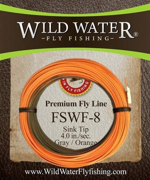 Weight Forward 8 Sinking Tip Fly Line - Wild Water Fly Fishing