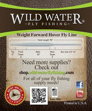 Weight Forward 6 Hover Fly Line - Wild Water Fly Fishing