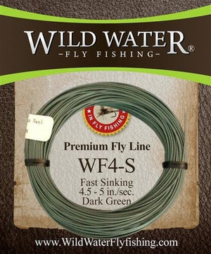 4 Weight Fast Sinking Fly Line | Wild Water Fly Fishing