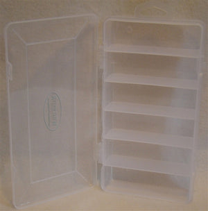 Wild Water Large 6 Section Clear Fly Box