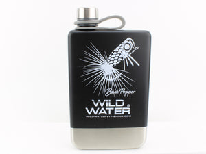 Stainless Steel Drinking Flask | Wild Water Fly Fishing