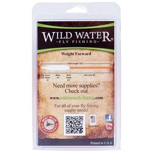 Wild  Water Fly Fishing, 8/9F Switch Line, 450 grains - Wild Water Fly Fishing