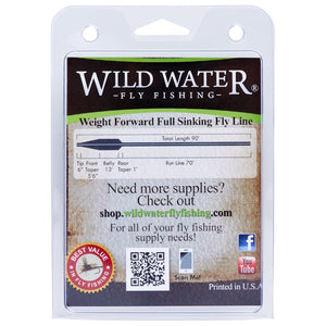 Weight Forward 7 Weight Super Fast Sinking Fly Line - Wild Water Fly Fishing