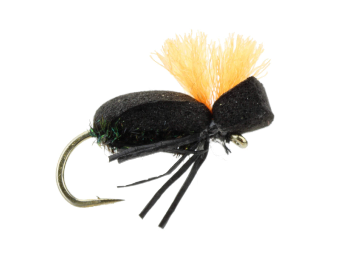 Foam Beetle Fly | Wild Water Fly Fishing