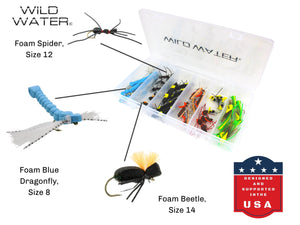 Foam Fly Assortment | Wild Water Fly Fishing