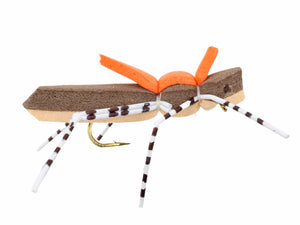 Brown Foam Grasshopper Fly | Wild Water Fly Fishing