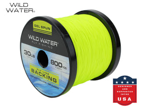 30 lb Gel-Spun Fly Line Backing | Wild Water Fly Fishing