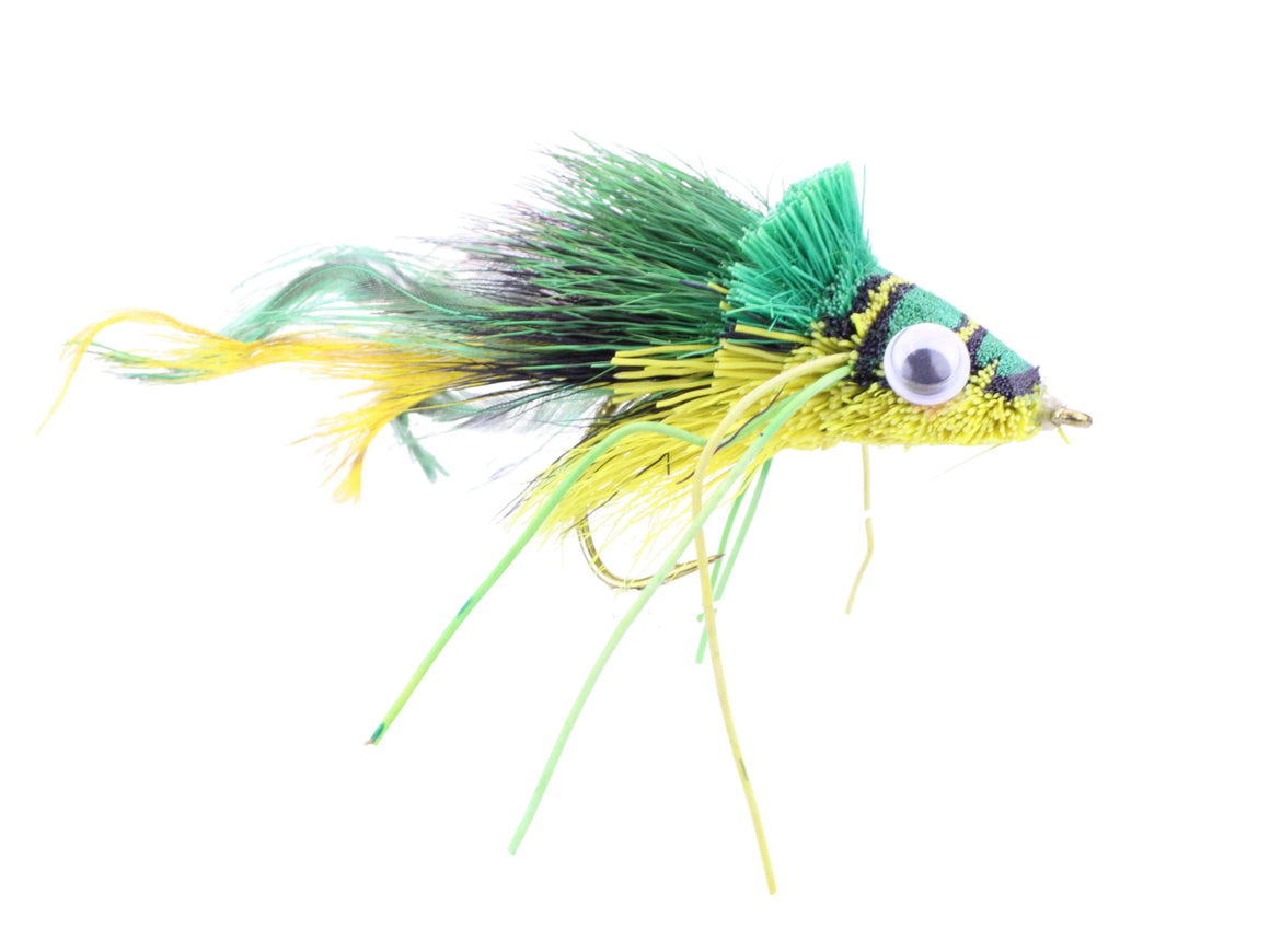 Deer Hair Bass and Pike Diver Fly | Wild Water Fly Fishing