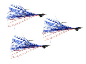 Blue and Red Clouser Fly | Wild Water Fly Fishing