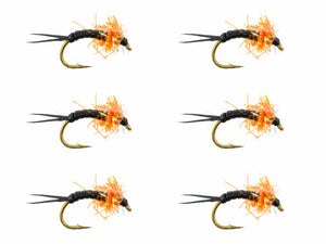 Orange Estaz Steelhead Fly | Wild Water Fly Fishing