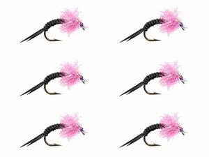 Pink Estaz Steelhead Fly | Wild Water Fly Fishing