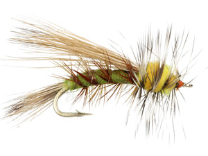 Green Stimulator Dry Fly Pattern | Wild Water Fly Fishing