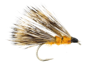 Orange Sedge Hog Fly Pattern | Wild Water Fly Fishing