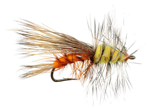 Orange Stimulator Dry Fly Pattern | Wild Water Fly Fishing