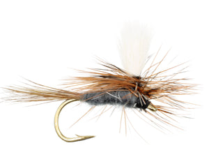 Parachute Adams Dry Fly Pattern | Wild Water Fly Fishing