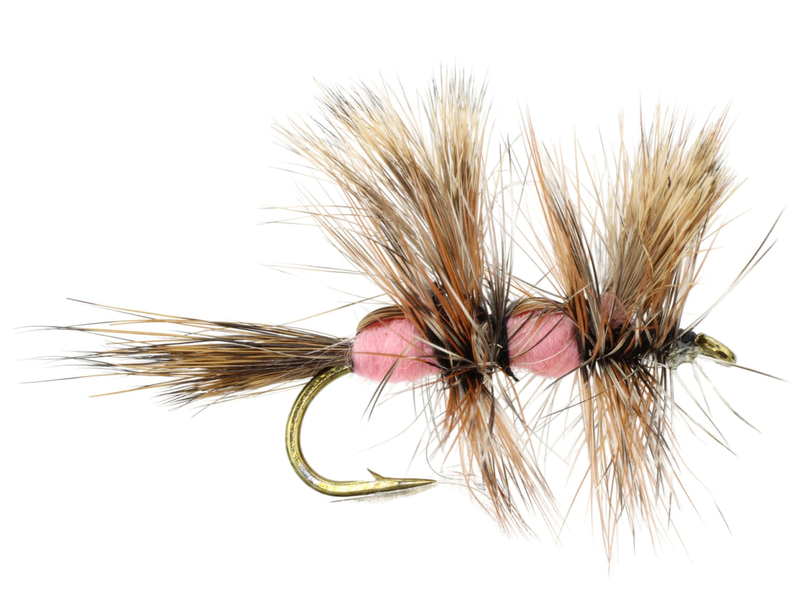 Pink Double Humpy Dry Fly Pattern | Wild Water Fly Fishing