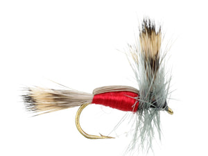 Red Humpy Dry Fly Pattern | Wild Water Fly Fishing