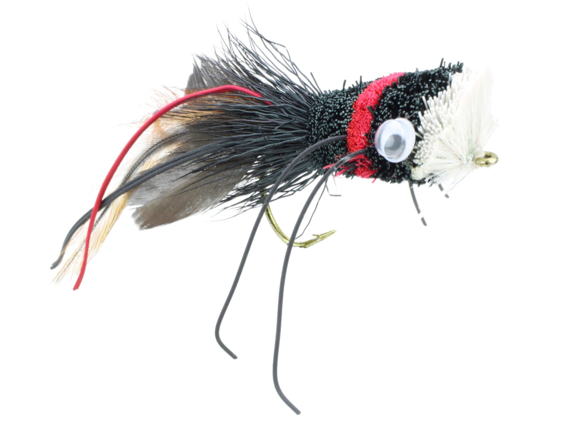 Deer Hair Bass and Pike Popper Fly | Wild Water Fly Fishing