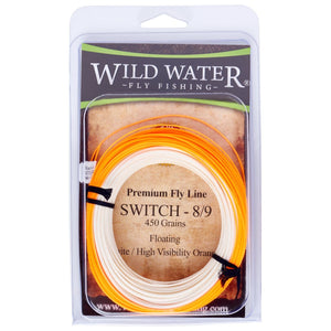 Wild  Water Fly Fishing, 8/9F Switch Line, 450 grains