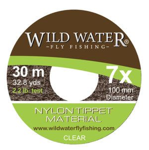 Wild Water Fly FIshing 7X Tippet