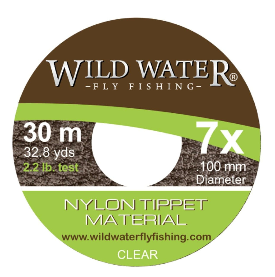 Wild Water Fly FIshing 7X Tippet - Wild Water Fly Fishing