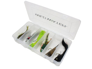 Wild Water Fly Fishing Bass/Pike Top Water Deer Hair Fly Assortment