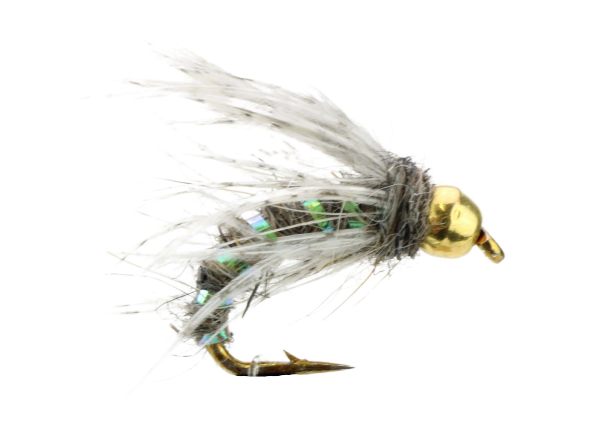 Tungsten Bead Gold Ribbed Hare's Ear Nymph | Wild Water Fly Fishing
