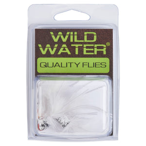 Wild Water White Slider Popper by Pultz Poppers, Size 6, Qty. 4 - Wild Water Fly Fishing