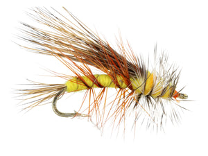 Wild Water Fly Fishing Yellow Stimulator, Size 12, Qty. 6