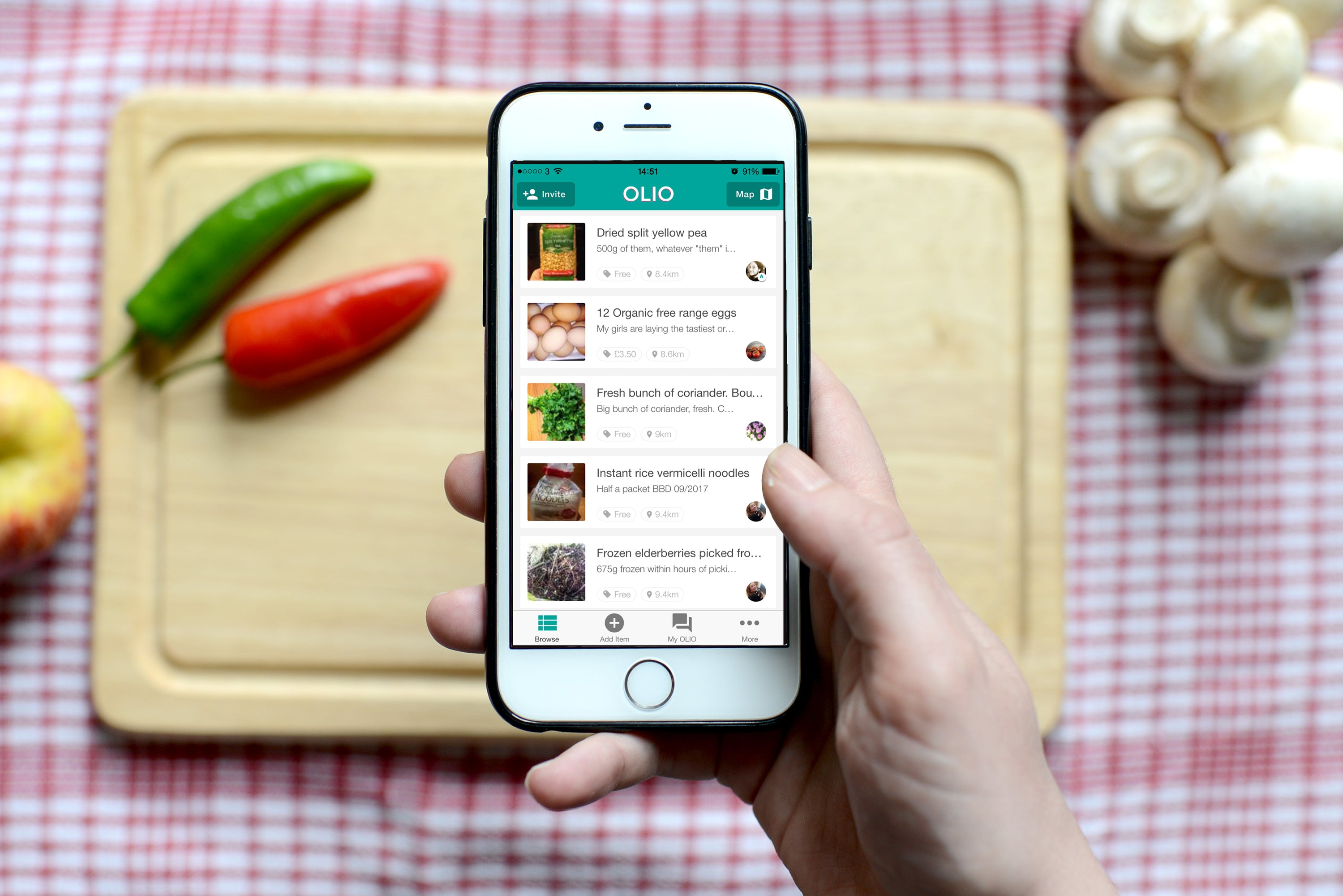 6 Great Apps to Reduce Food Waste