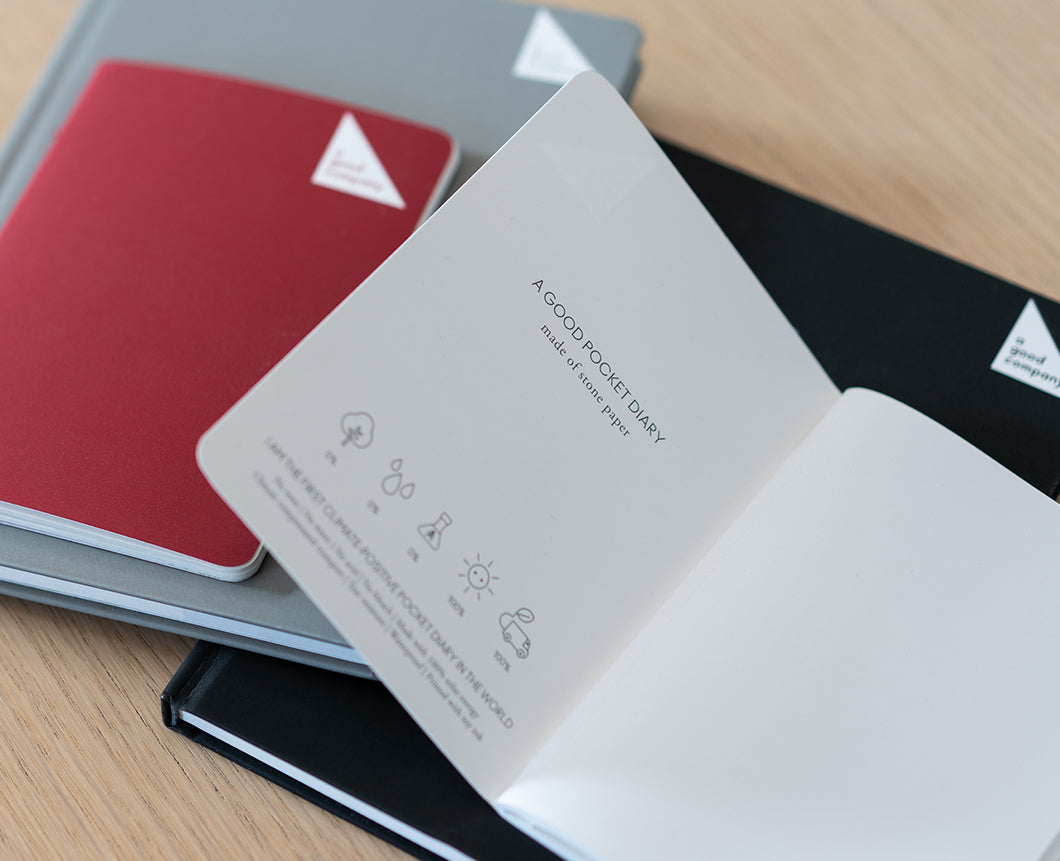 Notebook Sizes - A Good Company