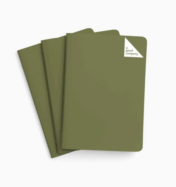 green stone paper diary