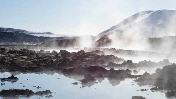 Iceland geothermal vents