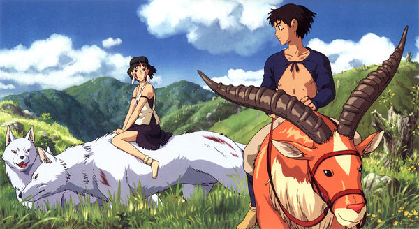 princess mononoke and prince ashitaka