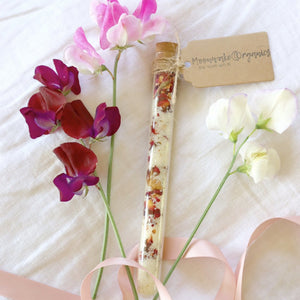 Rose Gold Luxe Bath Salt Wand