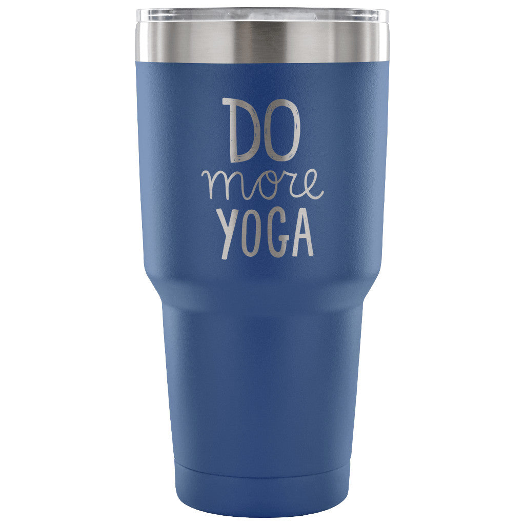 Do More Yoga 30 oz Tumbler - Travel Cup, Coffee Mug - KindBrew Coffee