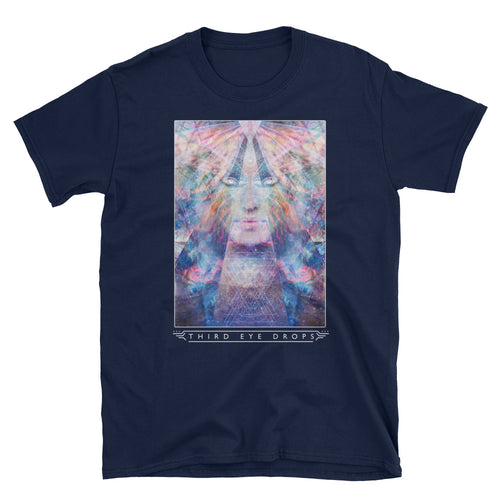 Light Goddess Window T-Shirt (Dark)