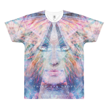 Load image into Gallery viewer, Light Goddess Full-Print T-Shirt