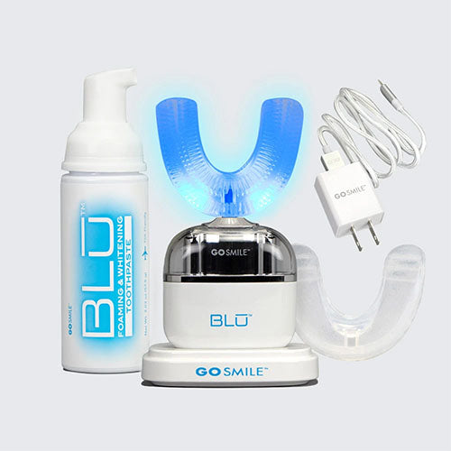 BLU Hands-Free Toothbrush & Whitening Device
